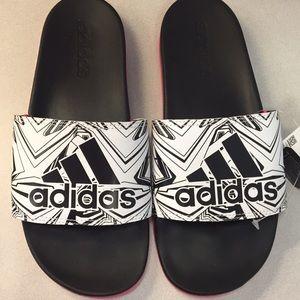 Adidas slides - women's
